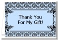 Damask - Baby Shower Thank You Cards thumbnail