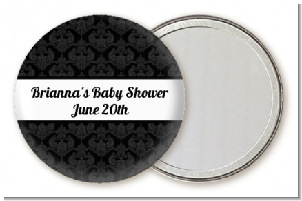 Damask - Personalized Baby Shower Pocket Mirror Favors