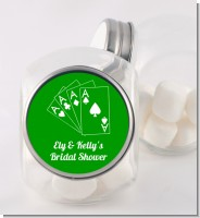 Deck of Cards - Personalized Bridal Shower Candy Jar