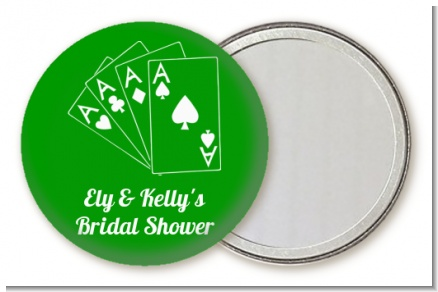 Deck of Cards - Personalized Bridal Shower Pocket Mirror Favors