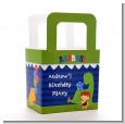 Dinosaur and Caveman - Personalized Birthday Party Favor Boxes thumbnail