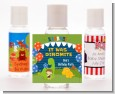 Dinosaur and Caveman - Personalized Birthday Party Hand Sanitizers Favors thumbnail