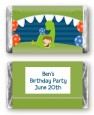 Dinosaur and Caveman - Personalized Birthday Party Mini Candy Bar Wrappers thumbnail