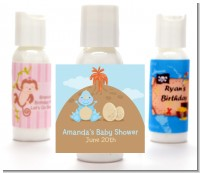 Dinosaur Baby Boy - Personalized Baby Shower Lotion Favors
