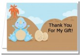 Dinosaur Baby Boy - Baby Shower Thank You Cards