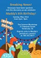 Dinosaur - Birthday Party Invitations thumbnail