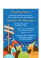 Dinosaur - Birthday Party Petite Invitations thumbnail