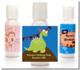 Dinosaur - Personalized Birthday Party Lotion Favors