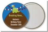 Dinosaur - Personalized Birthday Party Pocket Mirror Favors