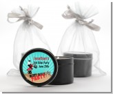Dirt Bike - Birthday Party Black Candle Tin Favors