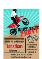 Dirt Bike - Birthday Party Petite Invitations thumbnail