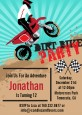 Dirt Bike - Birthday Party Invitations thumbnail