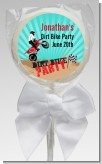 Dirt Bike - Personalized Birthday Party Lollipop Favors