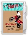 Dirt Bike - Birthday Party Personalized Notebook Favor thumbnail