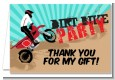 Dirt Bike - Birthday Party Thank You Cards thumbnail