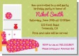 Doll Party - Birthday Party Invitations thumbnail