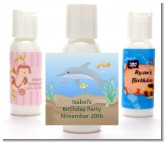 Dolphin - Personalized Birthday Party Lotion Favors