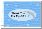Dolphin - Birthday Party Thank You Cards