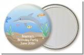 Dolphin - Personalized Birthday Party Pocket Mirror Favors