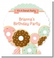 Donut Party - Personalized Birthday Party Centerpiece Stand thumbnail