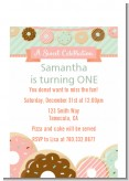Donut Party - Birthday Party Petite Invitations