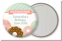 Donut Party - Personalized Birthday Party Pocket Mirror Favors