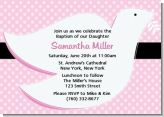 Dove Pink - Baptism / Christening Invitations