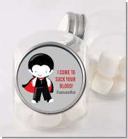 Dracula - Personalized Halloween Candy Jar