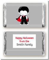 Dracula - Personalized Halloween Mini Candy Bar Wrappers