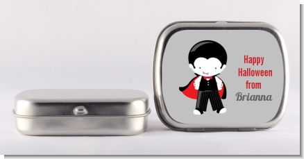 Dracula - Personalized Halloween Mint Tins