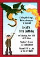 Dragon and Vikings - Birthday Party Invitations thumbnail