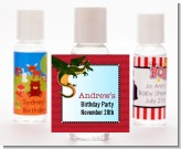 Dragon and Vikings - Personalized Birthday Party Hand Sanitizers Favors