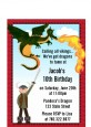 Dragon and Vikings - Birthday Party Petite Invitations thumbnail