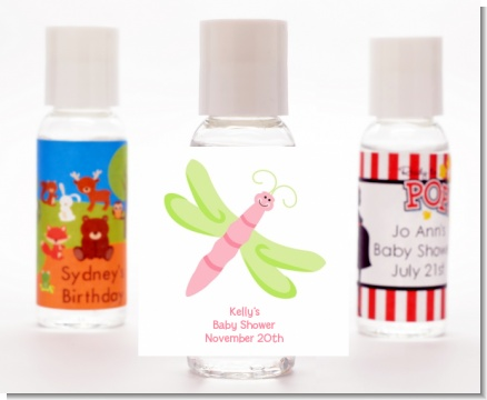 Dragonfly - Personalized Baby Shower Hand Sanitizers Favors