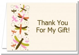 Dragonfly - Baby Shower Thank You Cards