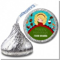 Dreaming of Sweet Treats - Hershey Kiss Christmas Sticker Labels