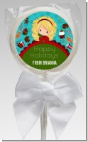 Dreaming of Sweet Treats - Personalized Christmas Lollipop Favors