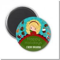 Dreaming of Sweet Treats - Personalized Christmas Magnet Favors