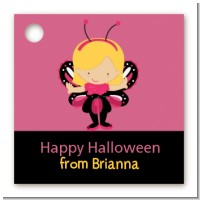 Dress Up Butterfly Costume - Personalized Halloween Card Stock Favor Tags