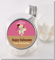 Dress Up Cowgirl Costume - Personalized Halloween Candy Jar
