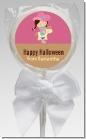 Dress Up Cowgirl Costume - Personalized Halloween Lollipop Favors