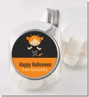 Dress Up Kitty Costume - Personalized Halloween Candy Jar