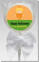 Dress Up Pumpkin Costume - Personalized Halloween Lollipop Favors