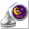 Dress Up Witch Costume - Hershey Kiss Halloween Sticker Labels thumbnail