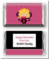 Dress Up Butterfly Costume - Personalized Halloween Mini Candy Bar Wrappers