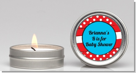 Dr. Seuss Inspired - Baby Shower Candle Favors