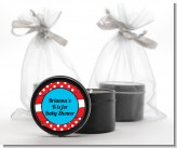 Dr. Seuss Inspired - Baby Shower Black Candle Tin Favors