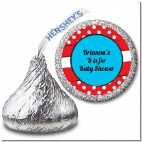 Dr. Seuss Inspired - Hershey Kiss Baby Shower Sticker Labels