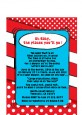 Dr. Seuss Inspired - Baby Shower Petite Invitations thumbnail
