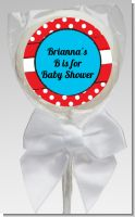 Dr. Seuss Inspired - Personalized Baby Shower Lollipop Favors